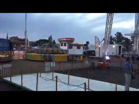 Time laps Bloemfontein show on the Ferris weel