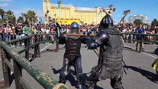 St Kilda Festival Profight: Mitch v Dan