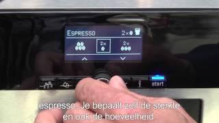 Siemens EQ8 serie met de 300/600/900 versie: Met één druk op de knop genieten van perfecte koffie