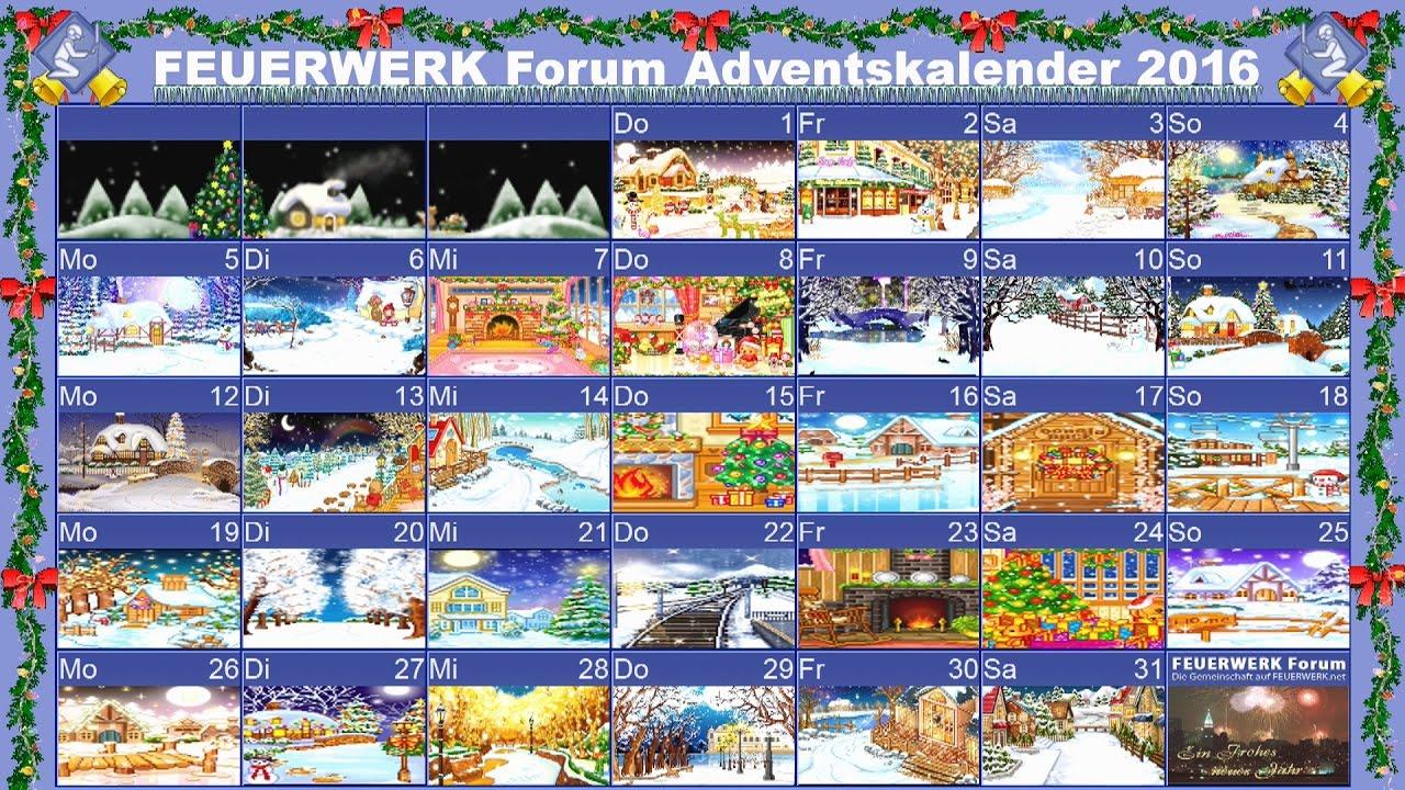 Adventskalender Forum