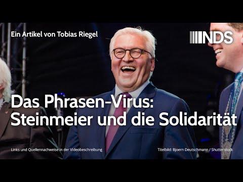 Das Phrasen-Virus: Steinmeier und die Solidarität   Tobias Riegel   NDS   27.03.2020