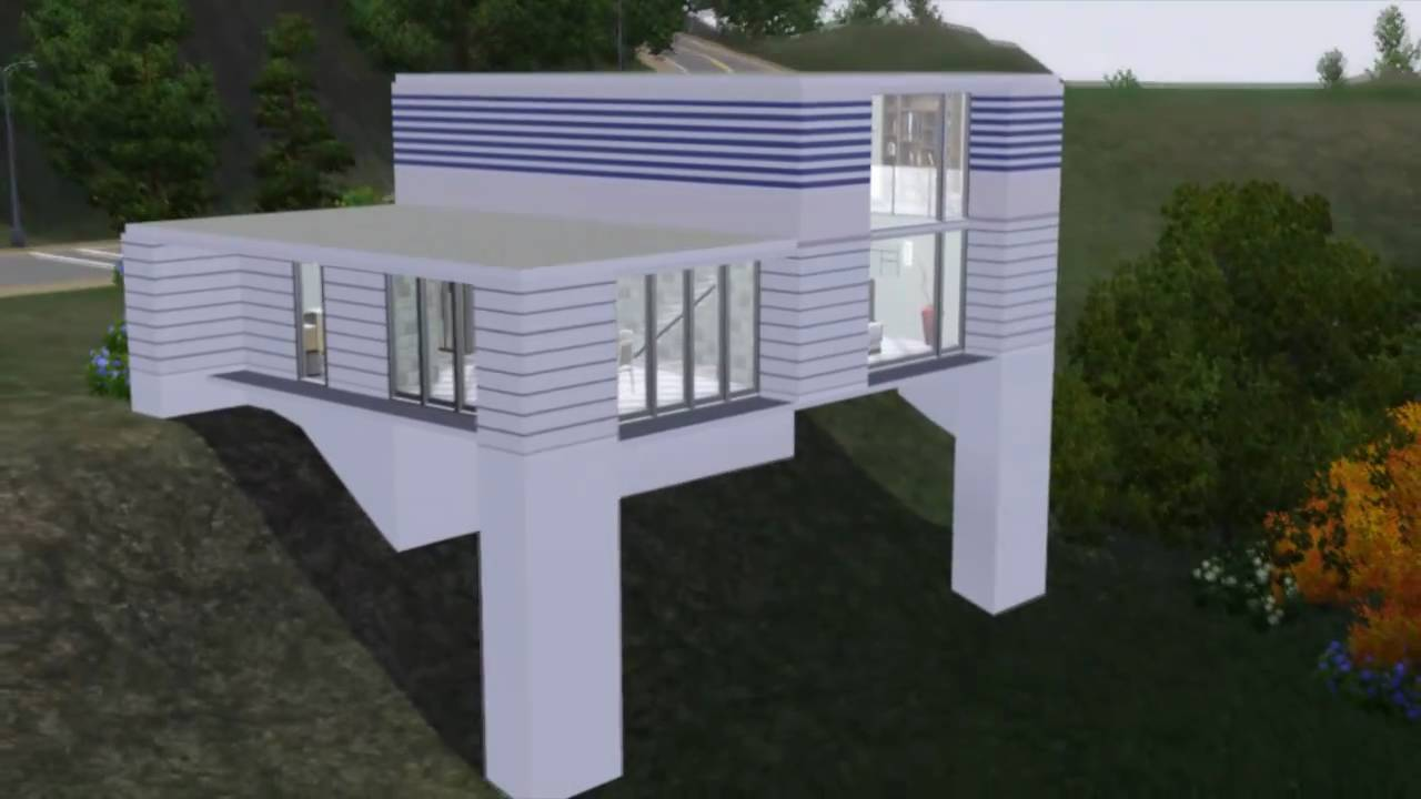 The sims 3 house modern 50k home hd youtube for Build a house for under 50k