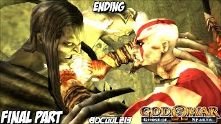 GOD OF WAR GHOST OF SPARTA GAMEPLAY WALKTHROUGH PART 7 FINAL BOSS FIGHT & ENDING - PS3 LETS PLAY