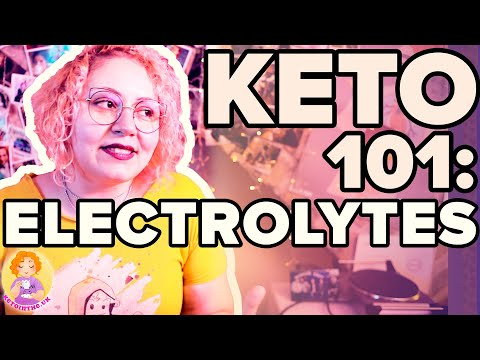 What Are ELECTROLYTES? Supplements On KETO 📚 Biology Of Keto Science Explained #3