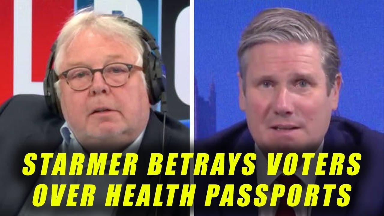 Keir Starmer's 5th U-Turn On Health Passports