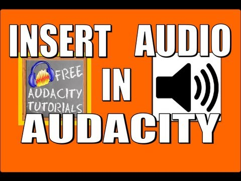 "Insert audio in the middle of an Audacity track - and use the ""append record"" function"