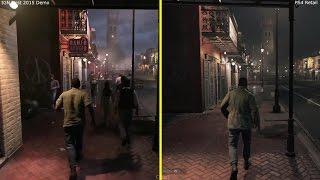 Mafia 3 IGN Demo 2015 vs 2016 PS4 Retail Graphics Comparison