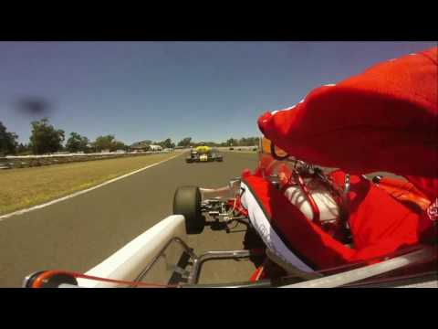 2016 NSW KZ2 Super Series, Round 4 Pre Final, onboard with Greg Olson