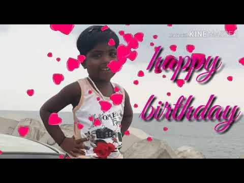 Happy Birthday Da Chella Kutty S S Sashmitha