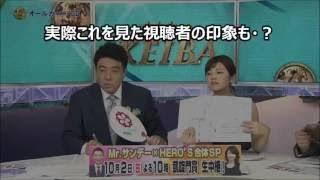 チャンネル登録はこちら↓ フジテレビ「みんなのKEIBA」で放送事故!竹内...