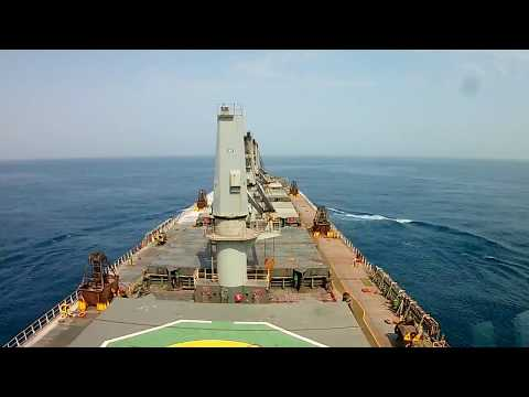 UAE to Mumbai  Time-lapse  sailing