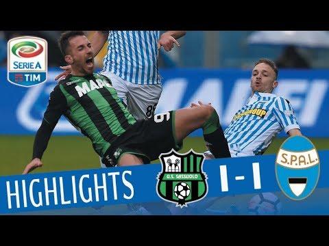 Sassuolo - Spal 1-1 - Highlights - Giornata 28 - Serie A TIM 2017/18