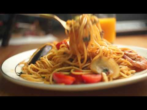 How to cook a tasty seafood and spaghetti(pasta)! so easy!!