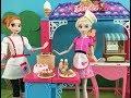 Elsa and Anna Cake Videos! Cafe! Fire Truck! Slime & Food Van! Frozen Barbie Dolls Episodes!