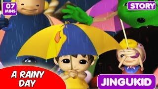 A Rainy Day | Latest Animated English Songs for Preschool Children | Let's Play with Boom Chiki Boom