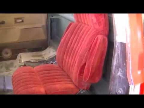 Part 1 C10 Bucket Seat Swap | Suburban Bucket Seats - YouTube
