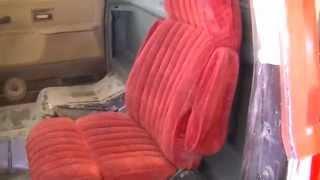 Part 1 C10 Bucket Seat Swap | Suburban Bucket Seats