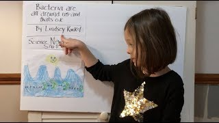 Bacteria are all around us (Science News for Students) | Kara - 5 Years Old | #TheSingleIssue