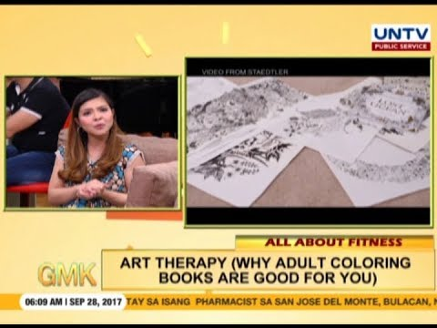 Art Therapy: Benefits Of Adult Coloring Book | All About Fitness