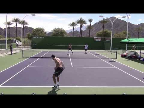 Thumbnail: Karen Khachanov Indian Wells 2017 Practice 1080 HD