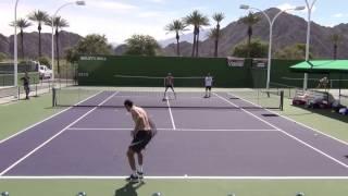 Karen Khachanov Indian Wells 2017 Practice 1080 HD