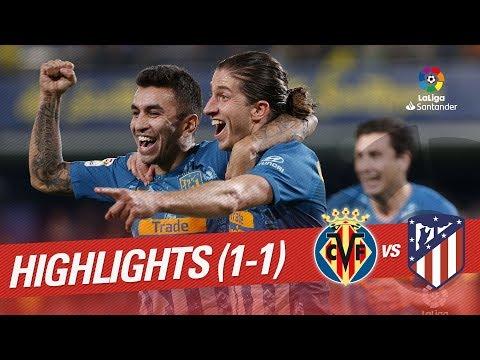 Resumen de Villarreal CF vs Atlético de Madrid (1-1)