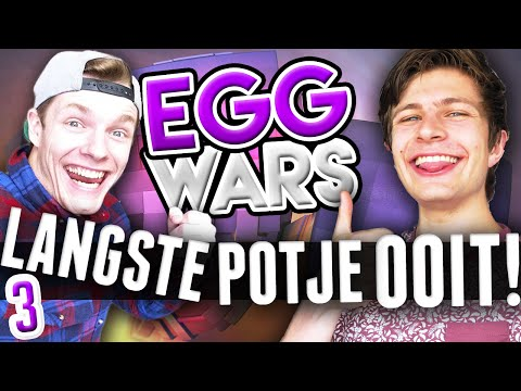 LANGSTE POTJE OOIT! (Eggwars XXL #3 met Enzo)