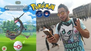 ¡INCREÍBLE CAPTURO RAYQUAZA SHINY! & ¡SUPER SORTEO DE TARJETAS GOOGLE PLAY! POKEMON GO!!