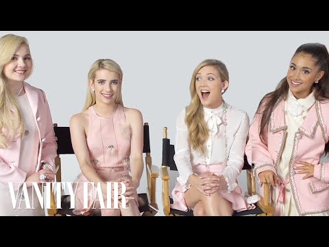 The Cast of Scream Queens Have an Ice Cream TasteOff