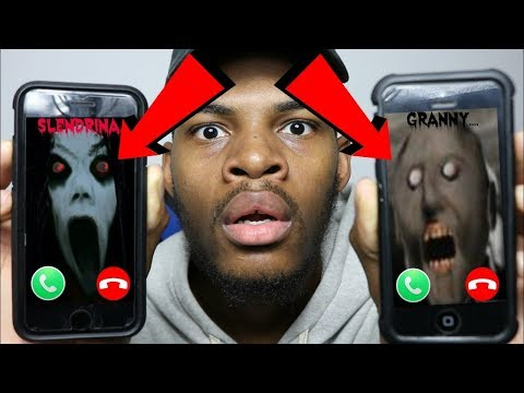 CALLING GRANNY AND SLENDRINA (ANSWERED) THEY HAD A FIGHT OMG!!!! (ROAST BATTLE)