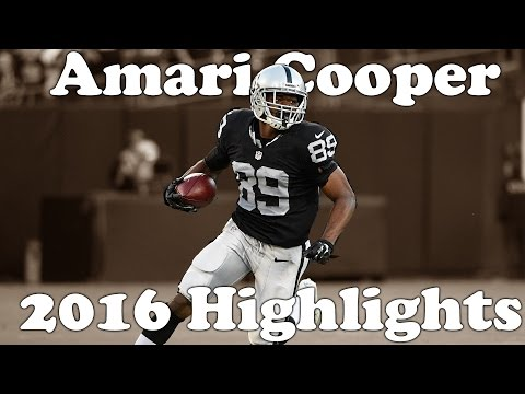 "Amari Cooper Highlights 2016-17 || ""COOP"" || HD"