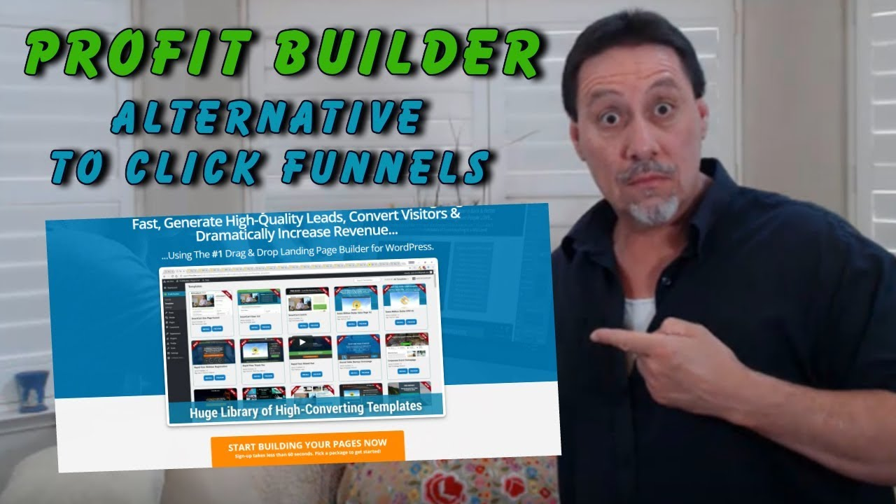 ProfitBuilder Review - Best Clickfunnels Alternative For Affiliate Marketing 2019