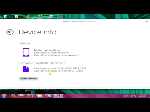 How to flash Nokia Lumia 625 by Windows Device Recovery Tool