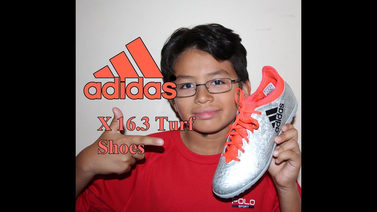 Adidas X 16.3 Turf soccer Shoes