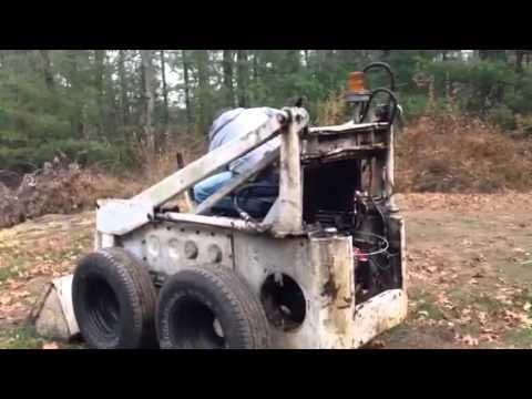 Melroe Bobcat M 444 repower