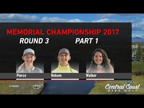 2017 Memorial FPO Round 3 Part 1 - Pierce, Hokom, Walker