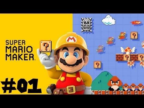 Super Mario Maker -- Part 1: Under Construction