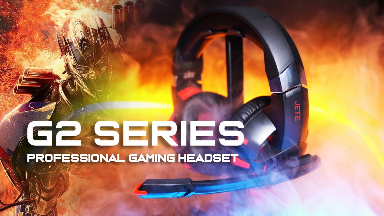 Gaming Headset JETE G2 SERIES | Feel the Transformer