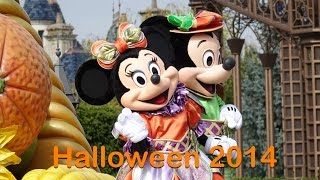 Halloween 2014 Disneyland Paris