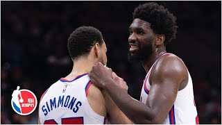 Joel Embiid excited about Ben Simmons playing PF, shares NBA bubble experience | NBA on ESPN
