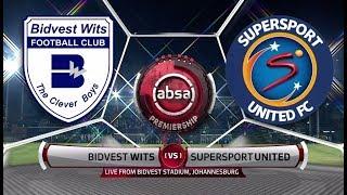 Absa Premiership 2018/19 | Bidvest Wits vs SuperSport United