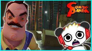 Back in the Creepiest Neighborhood with Hello Neighbor Part 3 Let's Play with Combo Panda thumbnail
