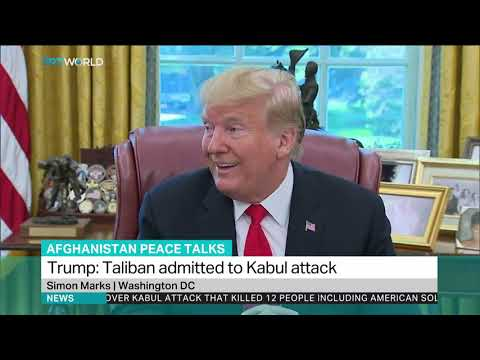 Why Trump cancelled peace talks with Taliban?