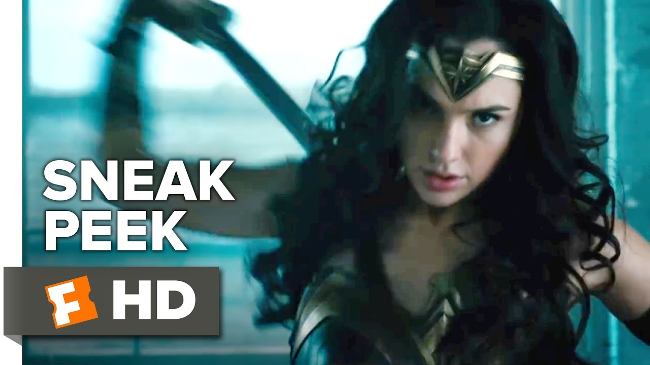 Wonder Woman Official Sneak Peek (2017) - Gal Gadot Movie