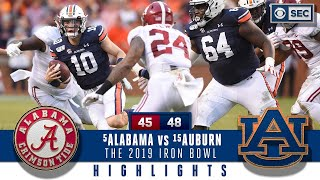 #5 Alabama vs #15 Auburn Preview - Bama suffers BIG loss in a wild 2019  Iron Bowl |   CBS Sports