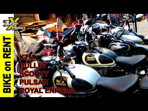 BIKES RENT IN DELHI - How to take BIKE on RENT - Royal Enfield / KTM / Bullet - TURBO XTREME