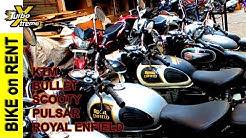 BIKES RENT IN DELHI - How to take BIKE on RENT - Royal Enfield / KTM / Bullet - TURBO XTREME