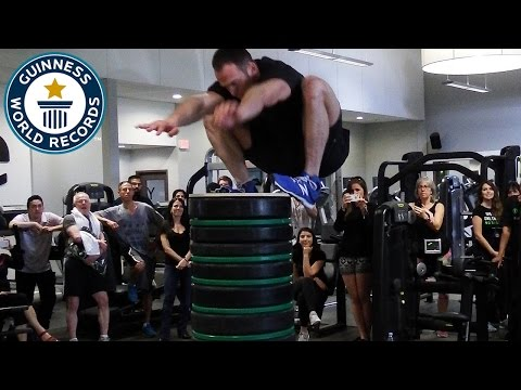 Highest Standing Jump - Guinness World Records