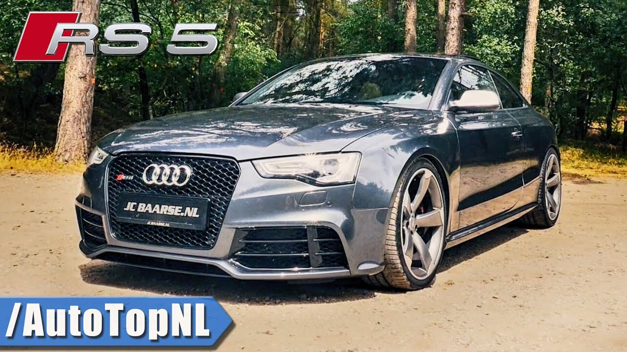 Audi Rs5 4 2 V8 Fsi Review By Autotopnl  English Subtitles