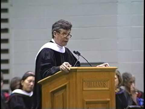 Jay McInerney, Commencement 2010 Speaker